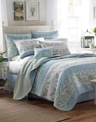 Laura Ashley Birds And Branches Quilt
