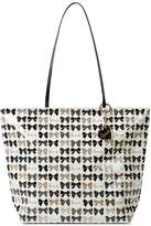 Harrods Glitter Bows Shoulder Tote Bag