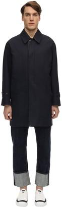 MACKINTOSH Reversible Cotton & Wool Coat