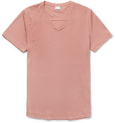 Onia Joey Slim-fit Stretch-cotton Jersey T-shirt