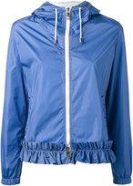 Fay gathered detail hooded jacket - women - Polyamide - S
