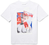 Neil Barrett Mark DiCaprio Printed Cotton-Jersey T-Shirt