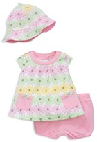 Offspring Girls' Daisy Top, Shorts & Hat Set - Baby