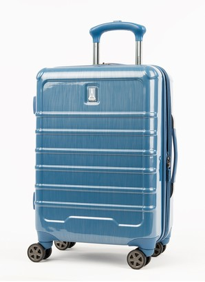 "Travelpro Electric Blue Rollmaster Lite Expandable Hardside 20"" Spinner Carry-On"
