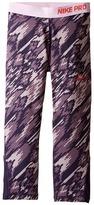Nike Pro Cool Printed Training Capri Girl's Casual Pants