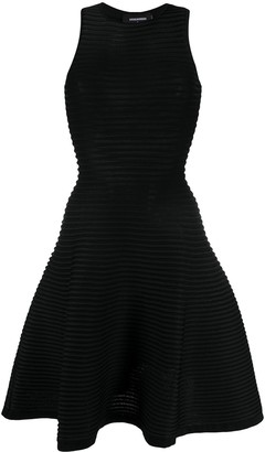 DSQUARED2 Ribbed Short Dress