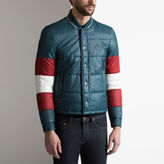 Bally Quilted Tri-Colour Jacket