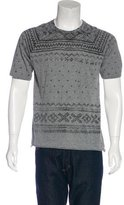 Yigal Azrouel Printed Crew Neck T-Shirt
