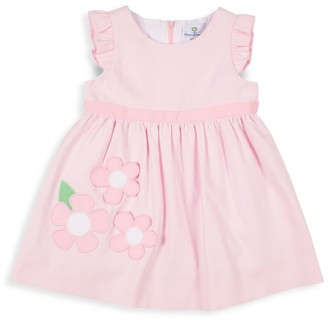 Florence Eiseman Little Girl's Floral Ruffle Dress