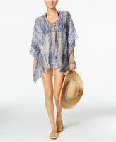 Rachel Roy Lace-Up Cover-Up Tunic Women's Swimsuit