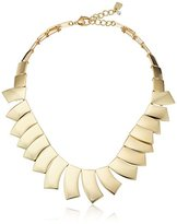 "Robert Lee Morris Tenacious Tortoise"" Geometric Collar Necklace, 17"" + 2"" Extender"
