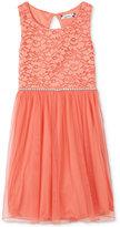 Speechless Lace & Tulle Dress, Girls Plus (10-20)