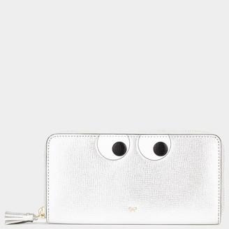 Anya Hindmarch Eyes Large Zip-Around Wallet