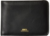 Obey Gentry Bi-Fold Wallet Wallet Handbags