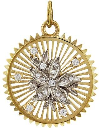 Foundrae Medium Millie Fleur Resilience Medallion