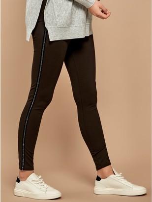 M&Co Sonder Studio sparkle side stripe leggings
