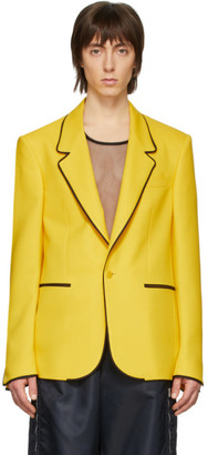 Random Identities Yellow Sister Blazer