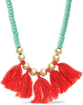 Fossil Fringe Necklace