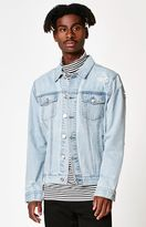 PacSun Destroyed Light Wash Denim Jacket