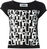 Jeremy Scott quote print T-shirt