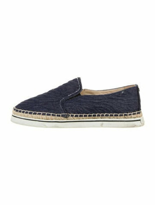 Jimmy Choo Espadrille Sneakers Blue