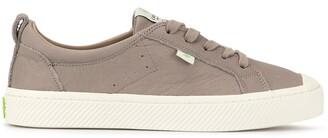 Cariuma OCA Low Grey Premium Leather Sneaker