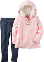 Carter's Girls 2-pc. Long Sleeve Pant Set-Baby 0-24 Mnths