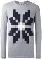 Comme des Garcons geometric motif sweatshirt
