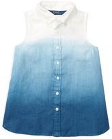 Ralph Lauren Girls' Dip Dye Top - Little Kid