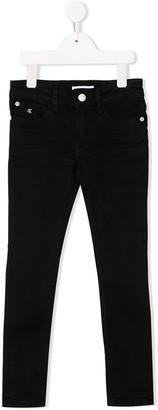 Calvin Klein Kids Stretch Slim-Fit Jeans