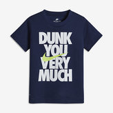 "Nike ""Dunk You Very Much\"" Little Kids' (Boys') T-Shirt"