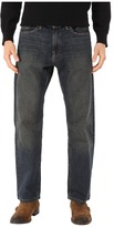 Nautica Medium Wash Crosshatch Jean in Rigger Blue Men's Jeans