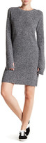 Current/Elliott The Easy Sweater Wool & Cashmere Blend Sweater Dress
