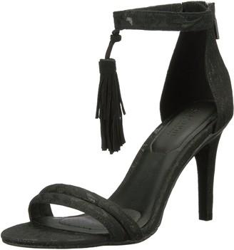 Kenneth Cole Reaction womens Smash Light Two Piece Open Toe Stiletto Dress Sandal With Tassel Detail
