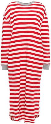 Sleepy Jones Striped Slub Cotton-jersey Nightdress