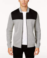 Alfani Men's Colorblocked Knit Full-Zip Jacket, Created for Macy's