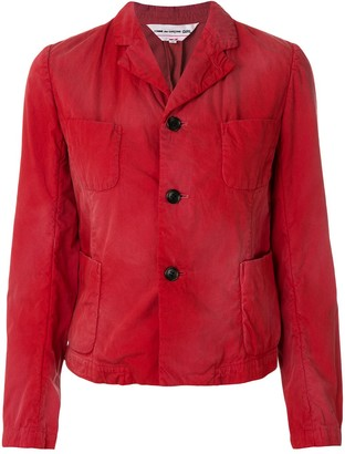 Comme des Garcons faded four pocket jacket