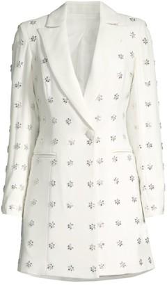 Jay Godfrey Ace Embellished Blazer Dress