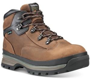 Timberland Men's Euro Hiker Pro Alloy Toe Waterproof Hiking Boots Men's Shoes