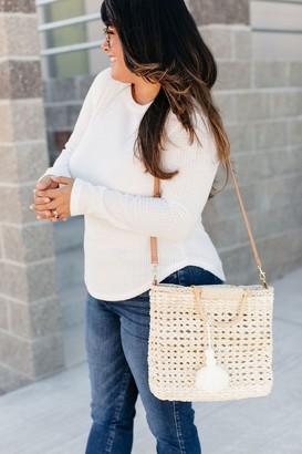 Sandy Straw Woven Bag