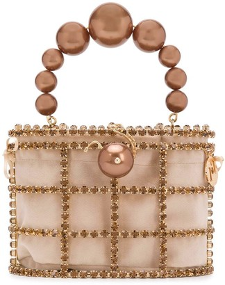 Rosantica Crystal Embellished Mini Bag