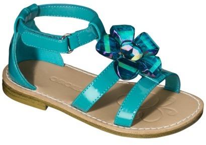 Toddler Girl's Cherokee® Jordan Sandal - Turquoise