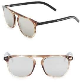 Christian Dior Black Tie 24 52MM Square Sunglasses