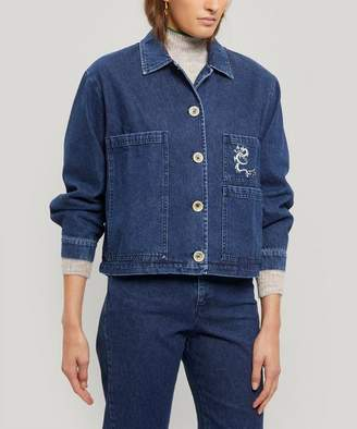Paloma Wool Stromboli Recycled Denim Jacket