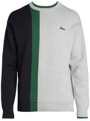 Lacoste Colorblock Striped Pullover