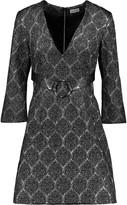 Suno Silk-blend brocade dress