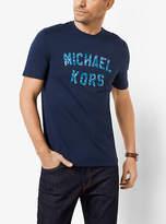 Michael Kors Varsity Logo Graphic Cotton T-Shirt