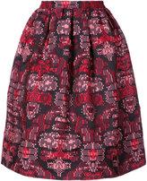 Oscar de la Renta jacquard skirt