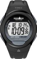 Timex Men's T5K608GP Ironman Traditional 10-Lap Black Resin Strap Watch