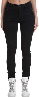 Drkshdw Tyrone Cut Jeans In Black Denim